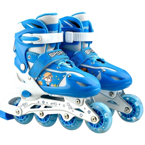 Children Kids Inline Skate Roller Skating Shoes Adjustable